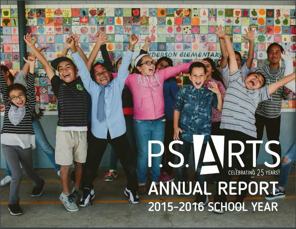 P.S. Arts annual report