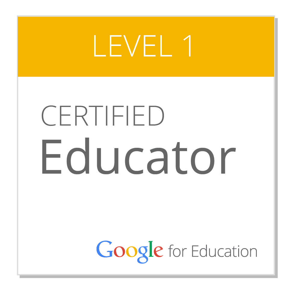 certified educator level1